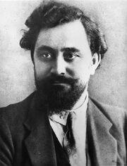Georgi Dimitrov as a young man