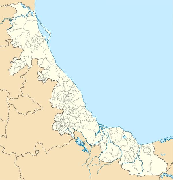 Mexico Veracruz location map