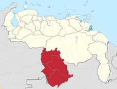 Ubicación del Estado Amazonas (CNS)
