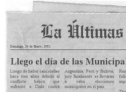 Diario - Elecciones Municipales 1982 (CNS)