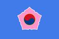 Flag of Kangwŏn (SM 3rd Power).png