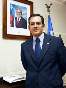 Intendente Regional Antofagasta Pablo Toloza Fernandez