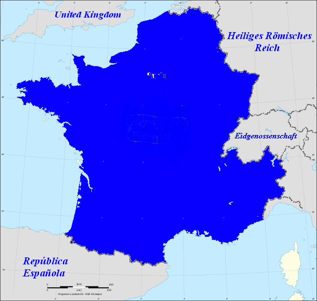 Image Map Of France French German Png Alternative - Map of france in french