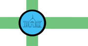 Hovedstaden Distriktet Flag