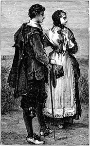 Puritan couple