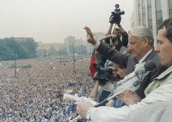 Ельцин перед верхсоветом