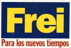 Eslogan Frei 1976 CNS