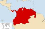 Location GranColombia