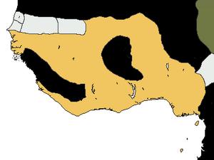 Map of Benin (1460) (PM4)