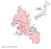 Map of Saigyo (Venusian Haven)