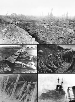 WWI Collage