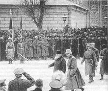 Русские войска в Киеве