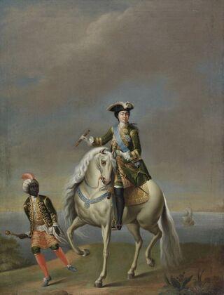 Equestrian portrait of Catherine I