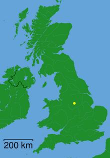 Matlock - Derbyshire dot