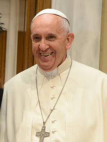 Franciscus in 2015
