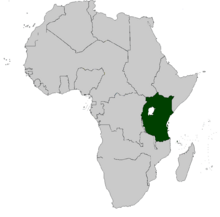 Localicación de la RF del África Oriental (EUH)