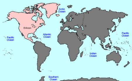 VINW World Map ERIKSON