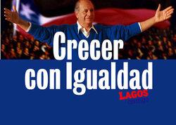 Afiche Campaña Ricardo Lagos