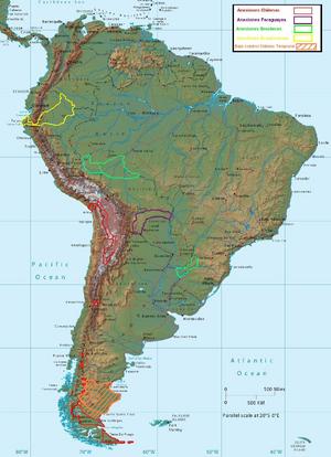Cambios en América del Sur (CNS)