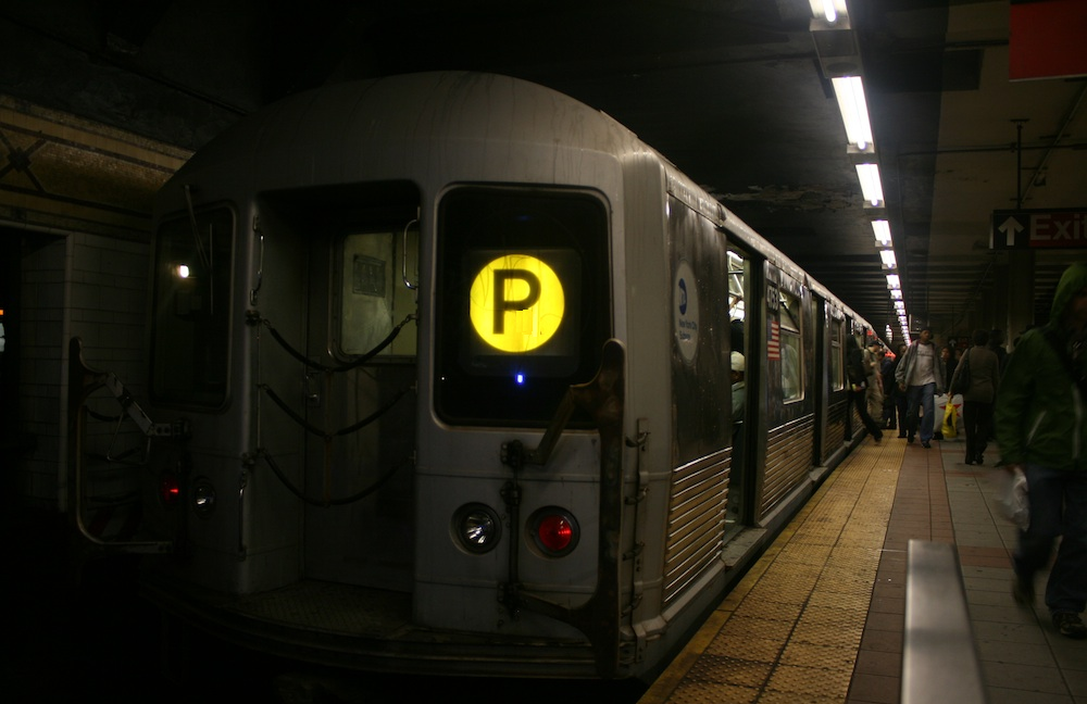 The P Train serves as the