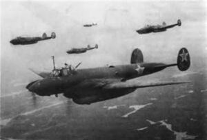 Пе-2 в Небе над Британией