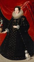 133px-Justus Sustermans - Eleonora Gonzaga (1598-1655), Empress in black dress