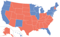 2000 United States Presidential Election Map (Similar Yet Different).png