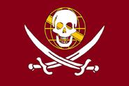 Bandeira da Confederação dos Corsários