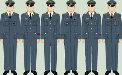 Die luftwaffe walk out uniforms2