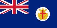 Flagge der britischen Venezuela (Neue britische Venedig)