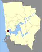 Map of Peppermint County