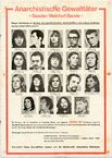 Raf-fahndungsplakat plakat 1997-01-0365