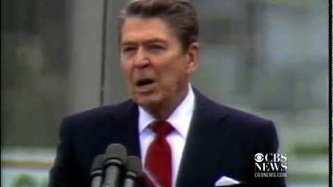"""Mr. Gorbachev - tear down this wall."" - Ronald Reagan, Berlin, 1987"