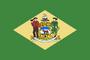 Flag Delaware