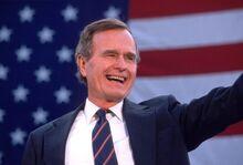 George HW Bush Nov 5 1988 Getty Images