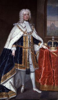 King George II by Charles Jervas