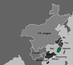 Map Hokkien (VegWorld)