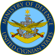 Seal of the Cygnian Ministry of Defence