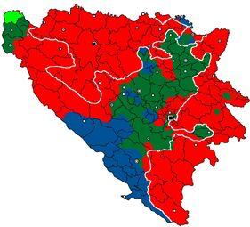 Территория Боснии и Герцеговины
