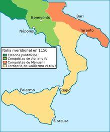 Conquiste di Manuele I di Bisanzio