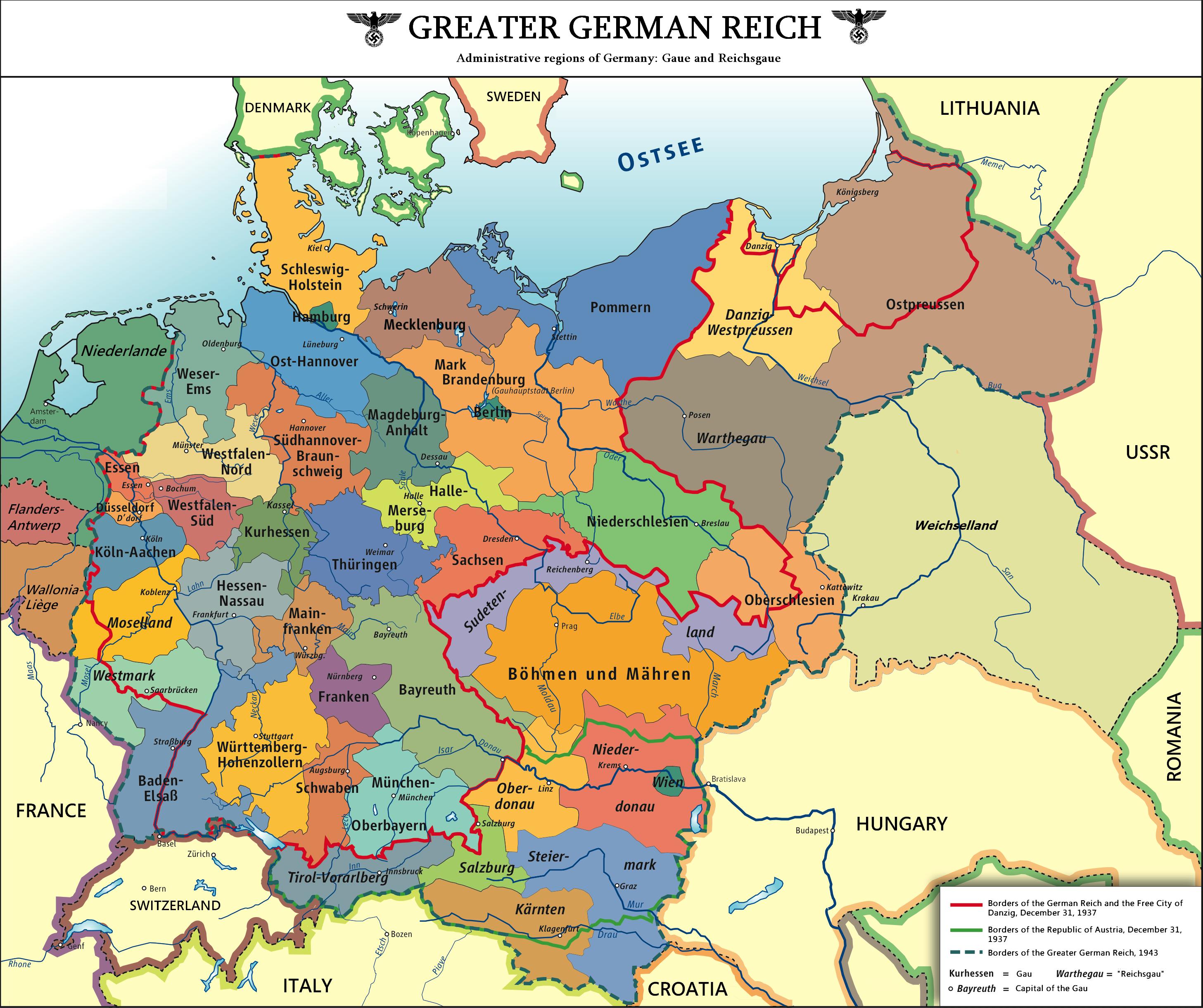 Greater German Reich Deutschland Siegt Alternative History