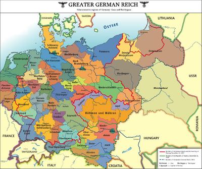 German Administrative Regions 1946