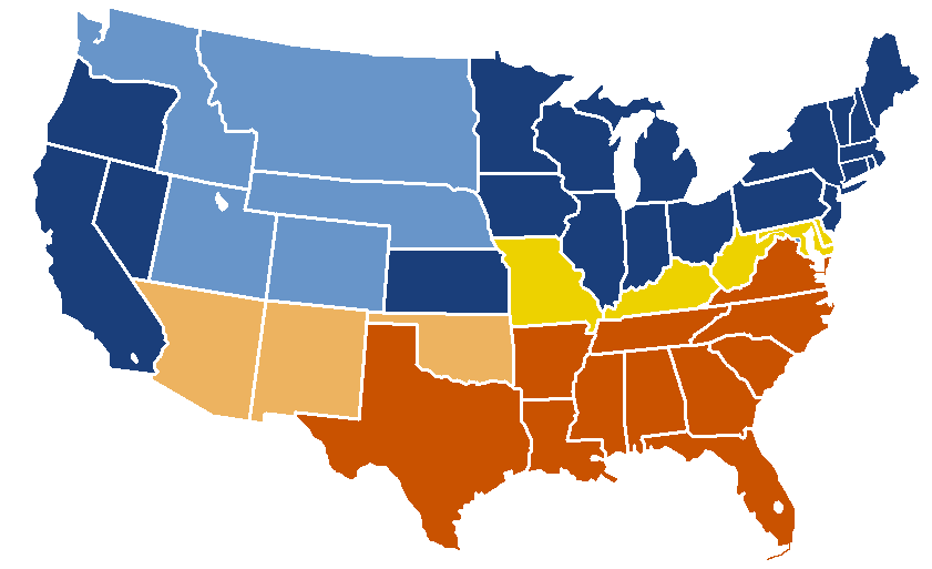 Image   US Secession map 1863.png | Alternative History | FANDOM