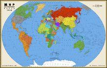 Альтернативная карта мира-0