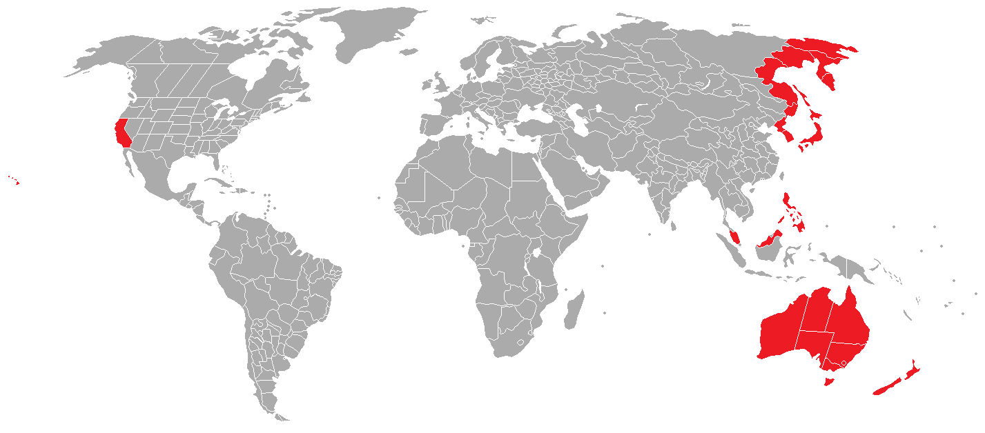 Image - Alternate 1950 Japan World Map.png | Alternative History ...