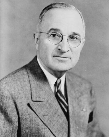 File:Harry S Truman, bw half-length photo portrait, facing front, 1945-crop.jpg