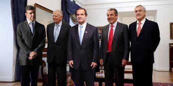 Presidentes chilenos mas recientes