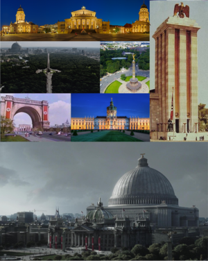 Welthauptstadt Germania collage