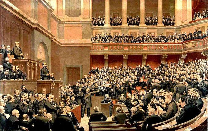 Палата депутатов Франции ЦнС XIX век