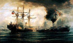 Сражение флота
